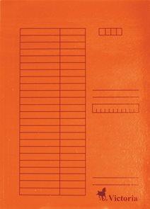 Victoria Desky A4 s rychlovazačem 5ks - oranžové