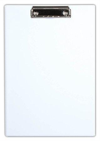 Victoria Psací podložka s klipem A4 PVC - bílá