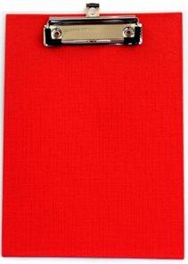 Office Jednodeska s klipem A5 - červená