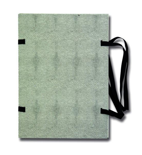HIT Spisové desky s tkanicí A3 - Hadí kůže