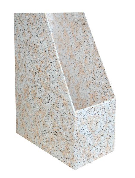 Archivační box 11 cm - motiv kámen světlý