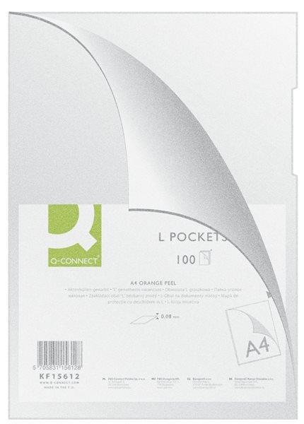 "Zakládací obal ""L"" A4 PP 80 mic matný bezbarvý 100 ks, Sleva 20%"