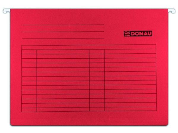 Donau Závěsné desky A4 - červené, Sleva 20%
