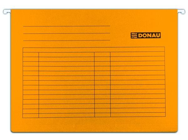 Donau Závěsné desky A4 - oranžové, Sleva 20%