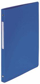 4-Kroužkový pořadač s popisovatelným štítkem, A4, 2 cm, PP - modrý