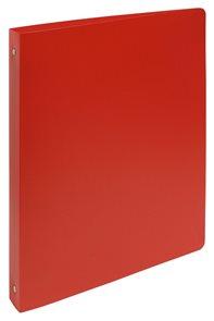 4-Kroužkový pořadač A4 maxi, 4 cm, PP - červený