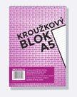 BOBO Blok kroužkový, horní vazba, A5 50 l. linkovaný