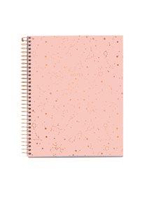 Spirálový blok s rozdělovači, A5, 120 listů, 70 g, linkovaný - Constellation