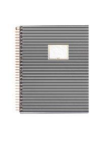 Spirálový blok Premium s rozdělovači, A5, 120 listů, 70 g, linkovaný - Stripes