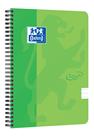 Oxford Nordic Touch Zápisník A5+ 70 listů, linkovaný - zelený