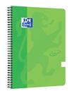Oxford Nordic Touch Zápisník A4+ 70 listů, linkovaný - zelený