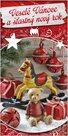 Stil Vánoční blahopřání - Rolničky a dárky