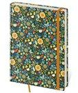 Zápisník Vario 143 x 205 mm čistý - květiny