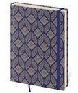 Zápisník Vario 120 x 265 mm tečkovaný - geometrický vzor