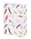 Zápisník Lyra linkovaný M, 13 x 19 cm - Indian/s peříčky