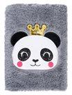 BAAGL Notes plyšový - Panda
