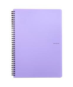 Karton PP PASTELINi Kroužkový blok A5 - fialová