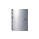 Karton PP Metallic Kroužkový blok A4 - stříbrná