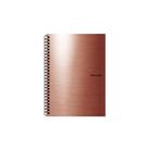 Karton PP Metallic Kroužkový blok A5 - měděná