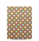 Filofax Notebook Patterns poznámkový blok A5 - Pastel Spots