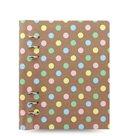 Filofax Clipbook Patterns kroužkový poznámkový blok A5 - Pastel Spots