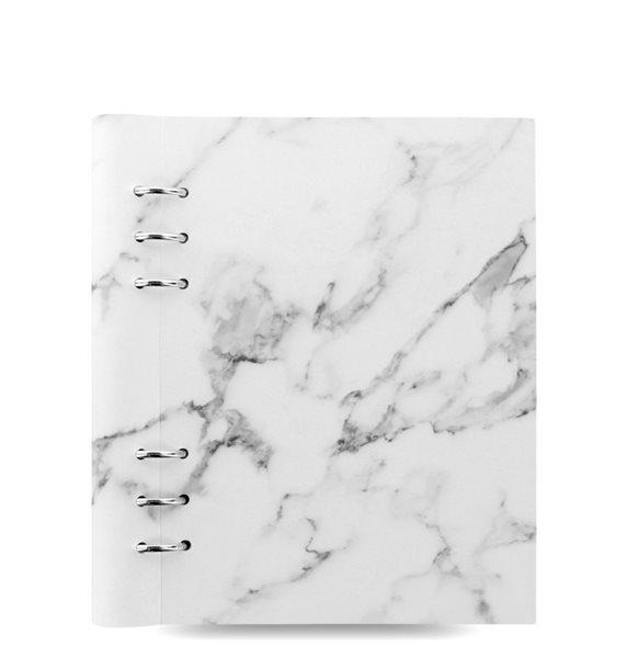 Filofax Clipbook Architexture kroužkový poznámkový blok A5 - Marble