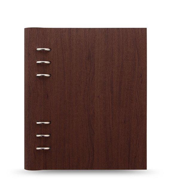 Filofax Clipbook Architexture kroužkový poznámkový blok A5 - rosewood