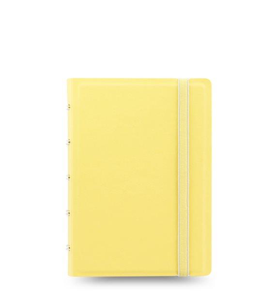 Filofax Notebook Pastel poznámkový blok A6 - pastelově žlutá