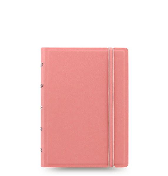 Filofax Notebook Pastel poznámkový blok A6 - pastelově růžová