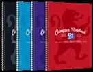Oxford Campus Zápisník A4 50 listů, linkovaný - mix barev