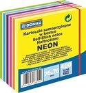 Donau samolepicí bloček 76 × 76 mm 400 listů - mix neon barev