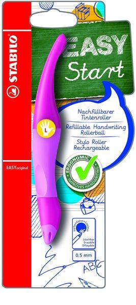 STABILO EASYoriginal L Roller pro leváky - růžová/sv.růžová