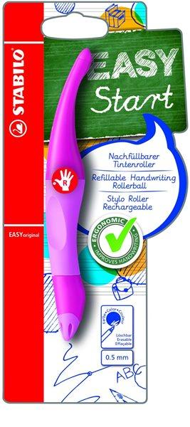 STABILO EASYoriginal P Roller pro praváky - růžová/sv.růžová