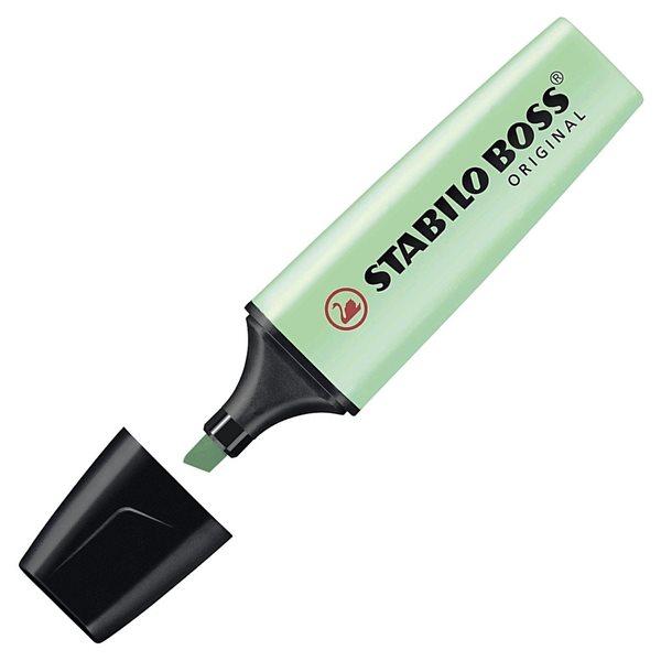 STABILO BOSS ORIGINAL Pastel Zvýrazňovač - zelená, Sleva 15%