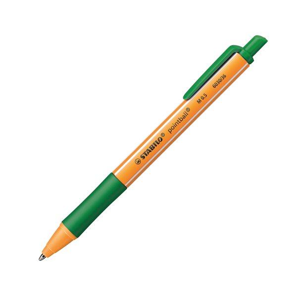 STABILO pointball Kuličkové pero - zelená