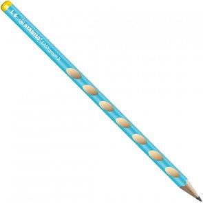 STABILO EASYgraph Slim L HB Tužka pro leváky - modrá