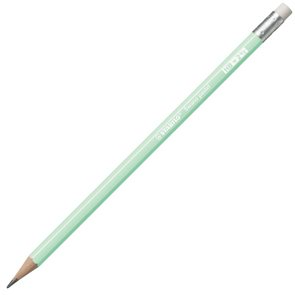 STABILO Swano Pastel Grafitová tužka s pryží HB - zelená