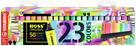 STABILO BOSS ORIGINAL Zvýrazňovač - sada 23 barev