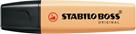STABILO BOSS ORIGINAL Pastel Zvýrazňovač - pastelová oranžová