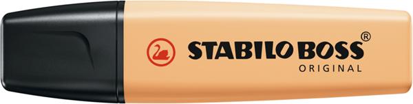 STABILO BOSS ORIGINAL Pastel Zvýrazňovač - pastelová oranžová, Sleva 15%