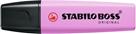 STABILO BOSS ORIGINAL Pastel Zvýrazňovač - růžovo-fialová