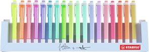 STABILO swing cool Zvýrazňovač - sada 18 barev