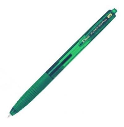 Pilot Super Grip-G Kuličkové pero stiskací hrot M - smaragdově zelené