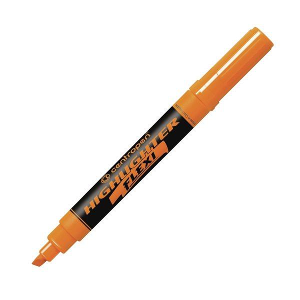 Centropen Zvýrazňovač HIGHLIGHTER FLEXI 8542 - oranžový