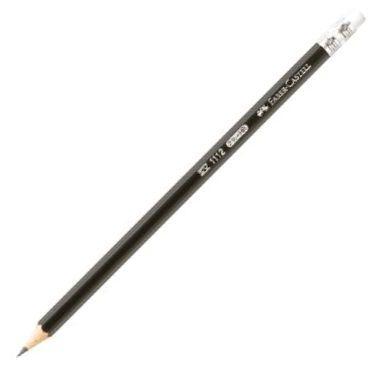Grafitová tužka Faber-Castell 1112 HB s pryží