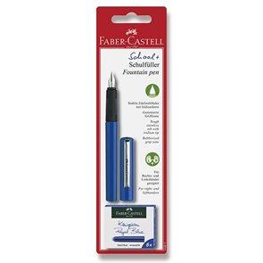 Plnicí pero Faber-Castell školní - modrá