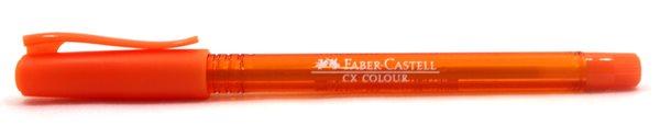 Kuličkové pero Faber-Castell CX Color 1.0mm - oranžová