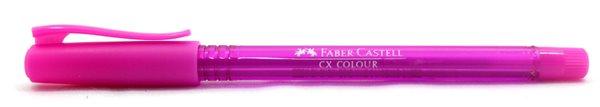Kuličkové pero Faber-Castell CX Color 1.0mm - růžová