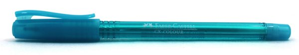 Kuličkové pero Faber-Castell CX Color 1.0mm - modrá