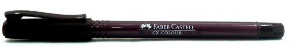 Kuličkové pero Faber-Castell CX Color 1.0mm - hnědá